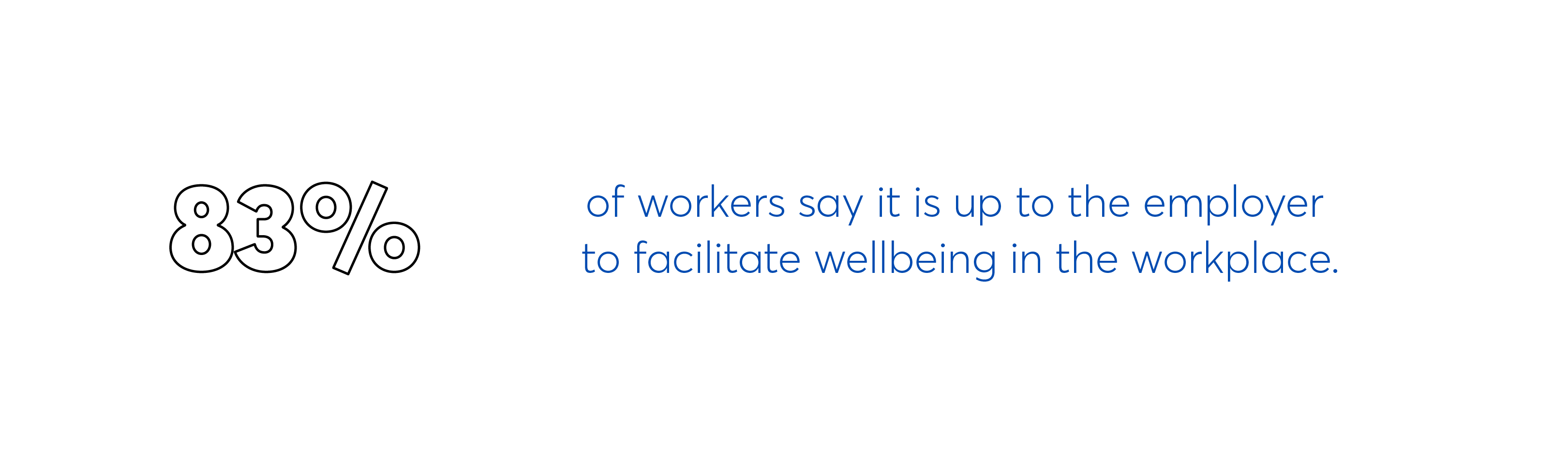 It is up to the employer to facilitate workplace being